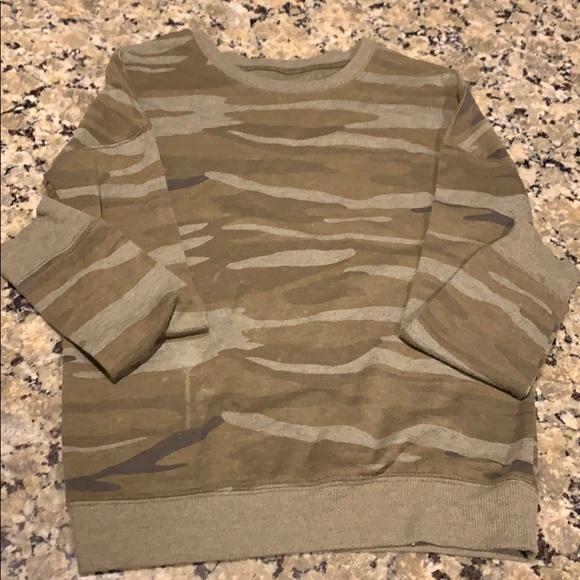 Zoe + Liv Sweaters - Long Sleeve Camo Sweater